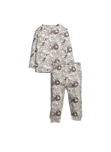 Zeyland Kuzu Baskılı Pijama Takımı (1-4yaş) Kuzu Baskılı Pijama Takımı (1-4yaş) Pembe